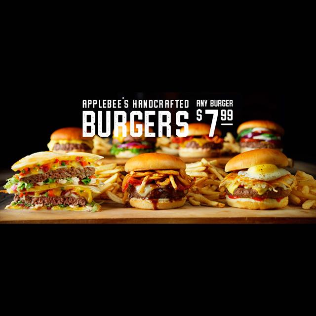 $7.99 Burger Special