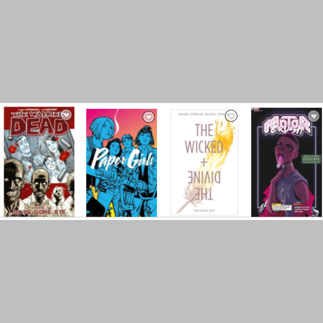 Image Graphic Novels: Buy 2, Get the 3rd Free