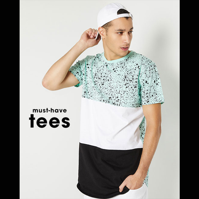 Tees BOGO 50% off