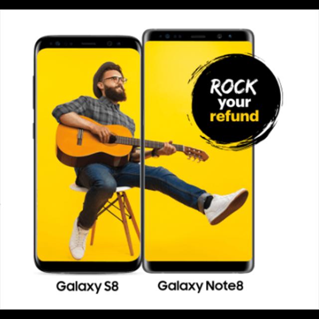 Galaxy S8, Just $8/mo.