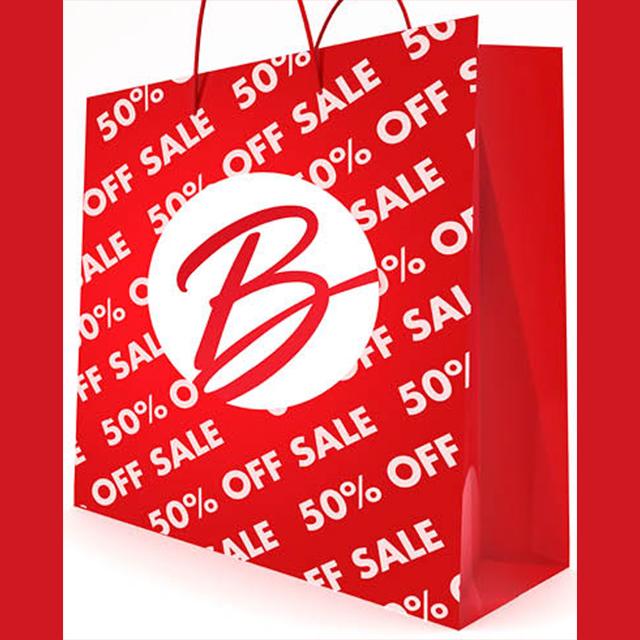 @Least 50% off Sale