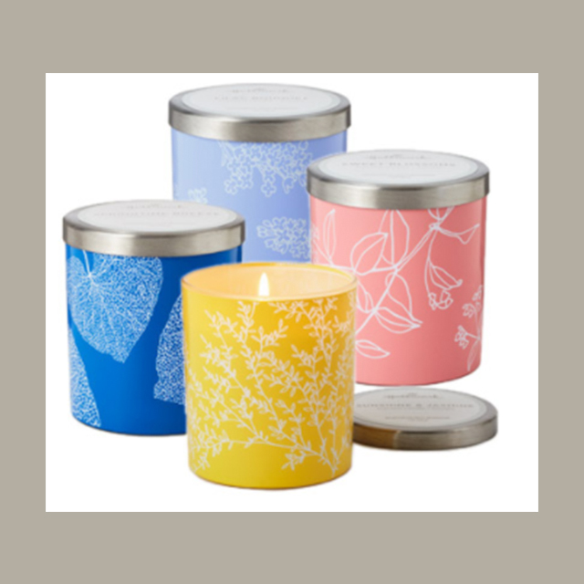 Hallmark Spring Candle Tumblers