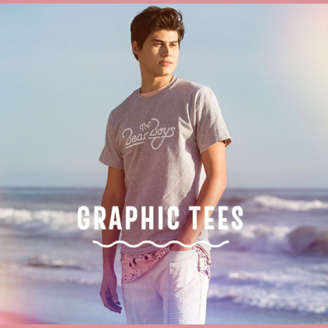 BOGO 50% off Graphic Tees