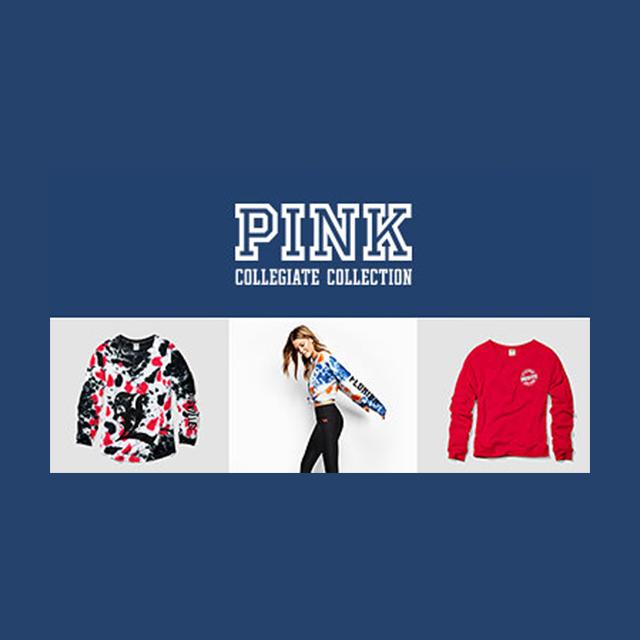 BOGO Free PINK Collegiate Collection
