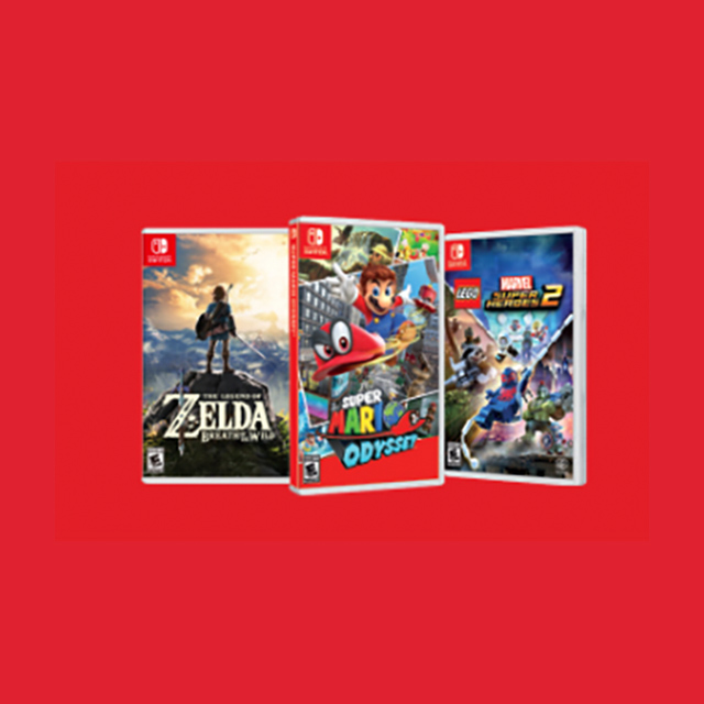 Extra $5 Credit when you trade any Nintendo Switch game