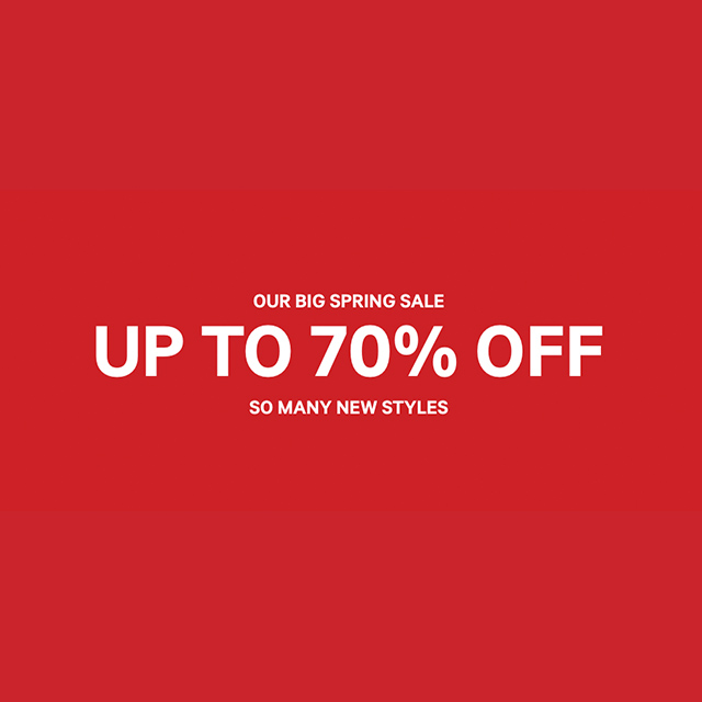 Our Big Spring Sale