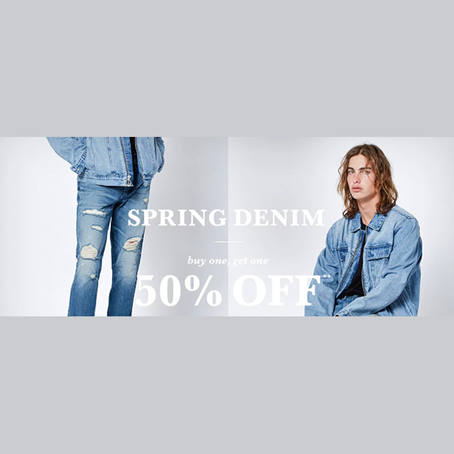 Spring Denim - BOGO 50% off