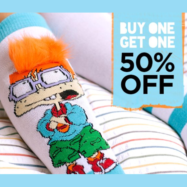 BOGO 50% off Socks