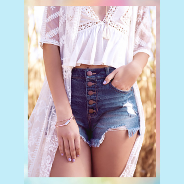 All Jean Shorts $20