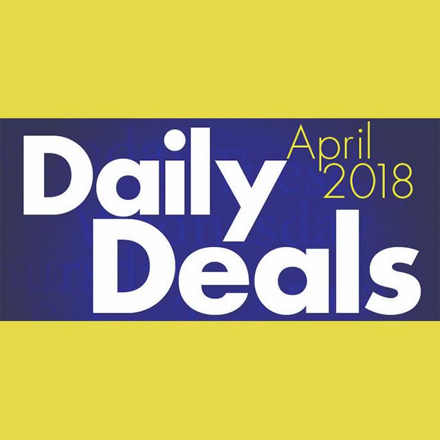 April 2018 Daily Deals