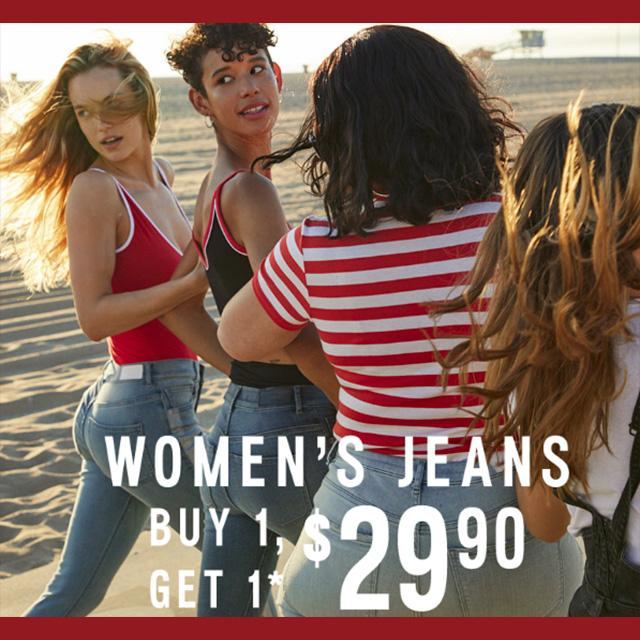 Women's Jeans BOGO $29.90