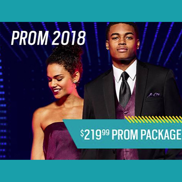 $219.99 Prom Suit Package