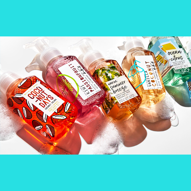 5 for $23 Hand Soaps