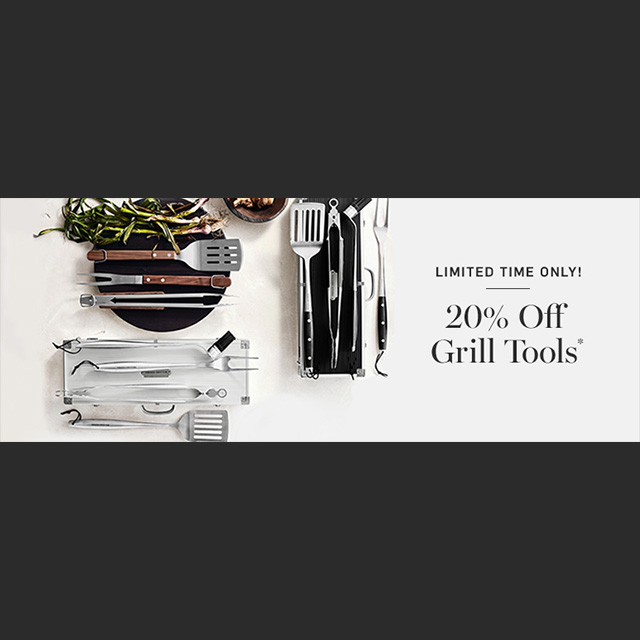 20% off Grill Tools