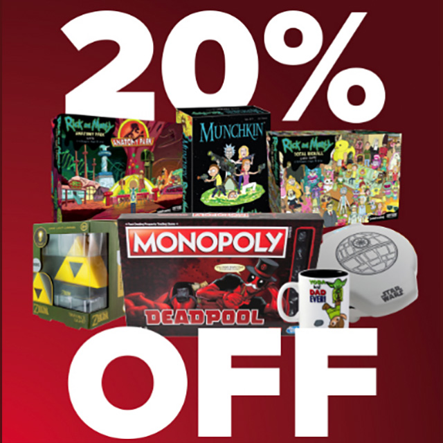 20% off Board Games, Puzzles, & Housewares