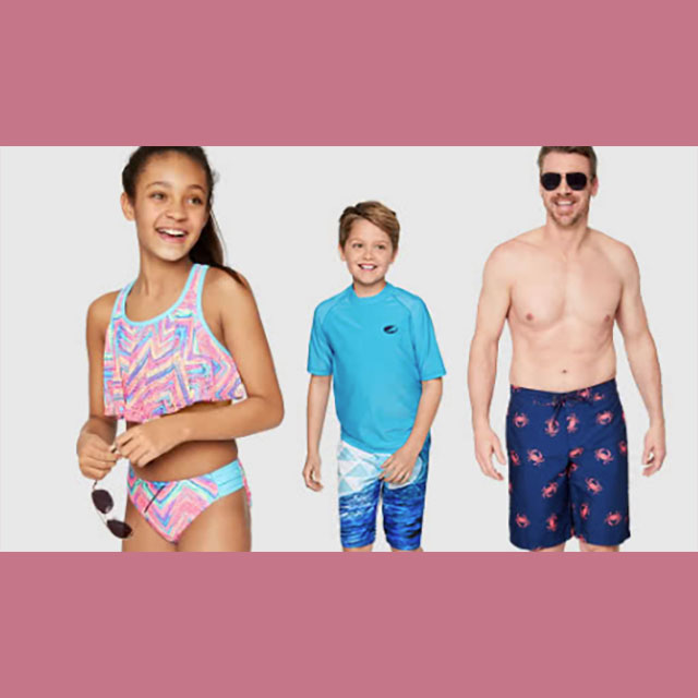 50% off Swimwear for the Family