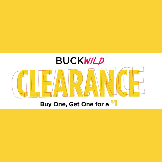 BuckWild Clearance