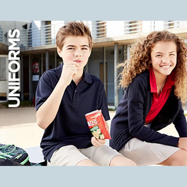 40-50% off Kids' Izod Uniforms