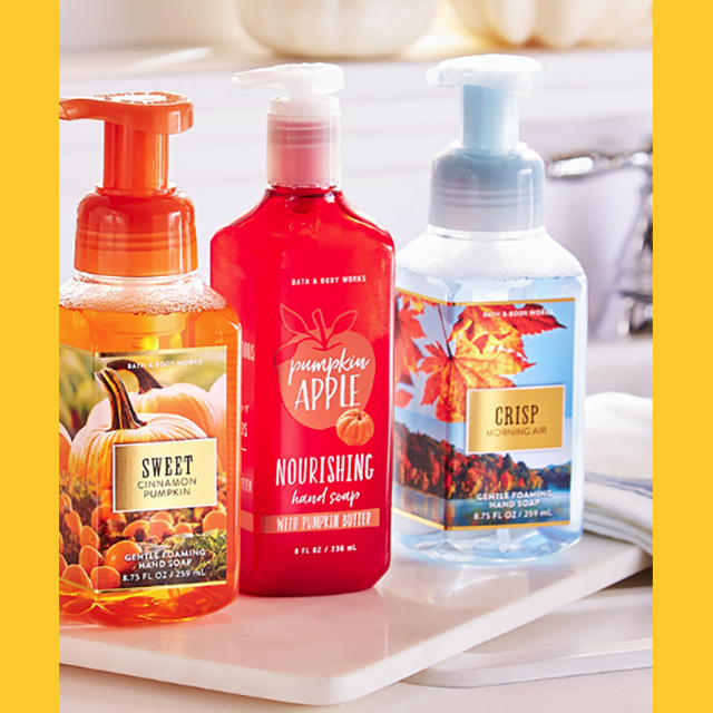 Hand Soaps 5/$23