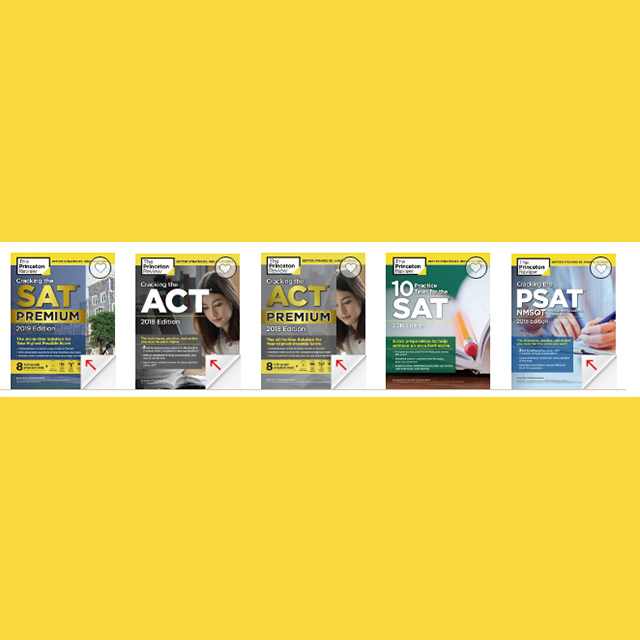 ACT & SAT Study Guides 30% Off