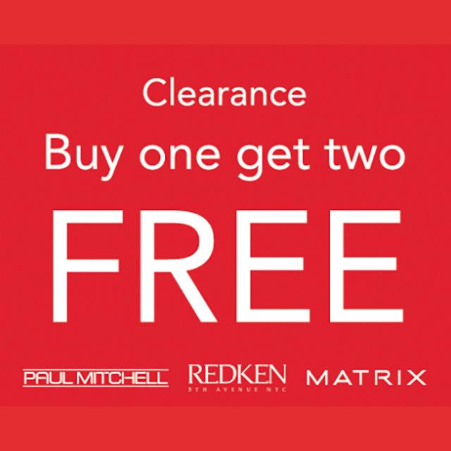 Clearance B1G2 Free