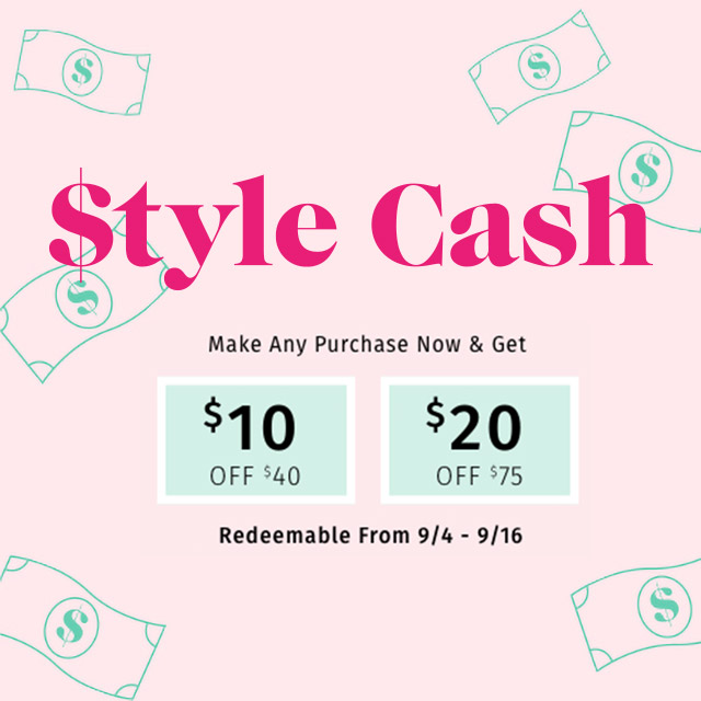 Get $10 Off a $40 Purchase or $20 off $75