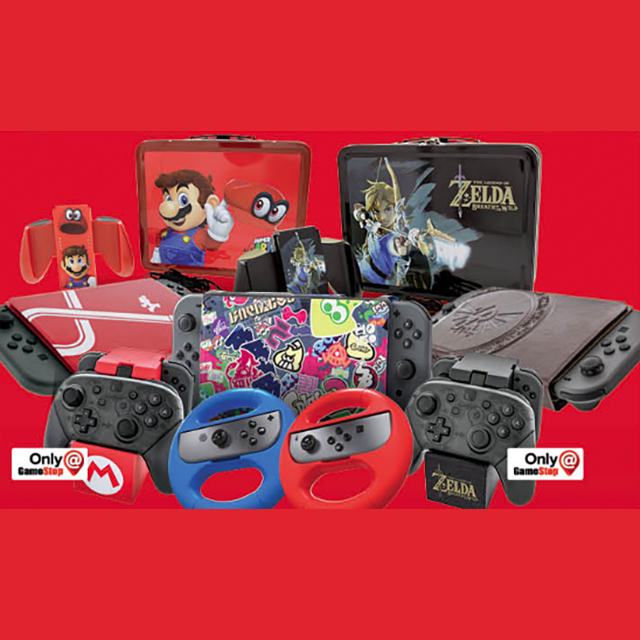 Only $9.99 Select Accessories for Nintendo Switch