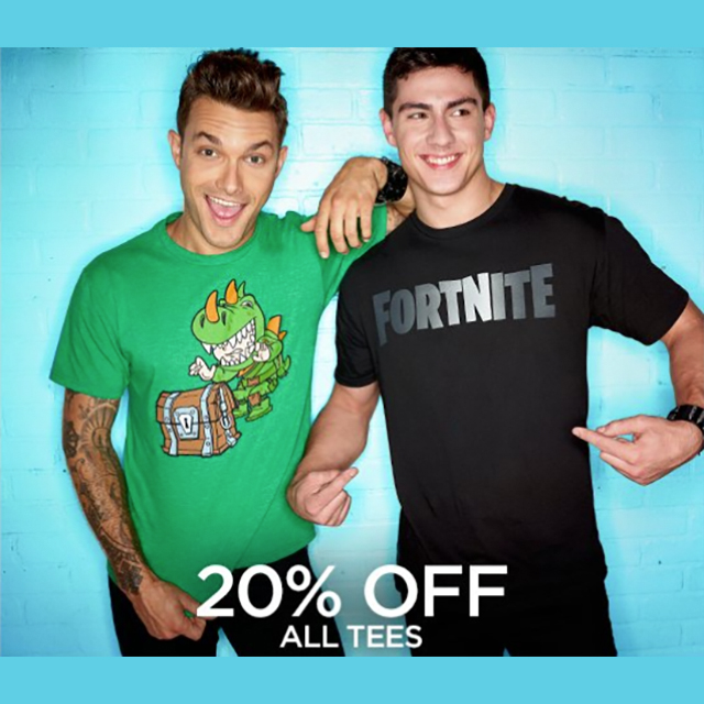 20% off All Tees
