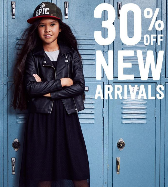 30% off New Arrivals