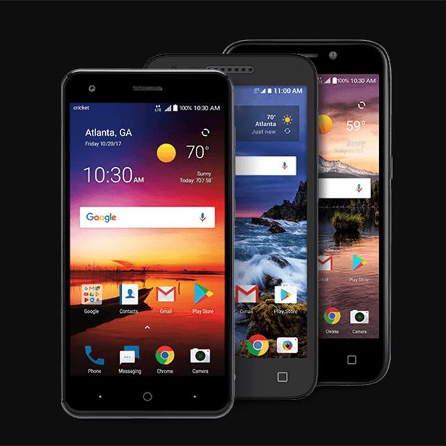 Select Smartphones Under $10*