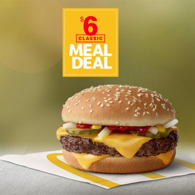 $6 Classic Meal Deal