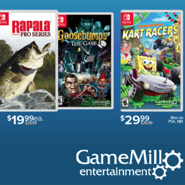 Save $10 on Select Game Mill Entertainment Games