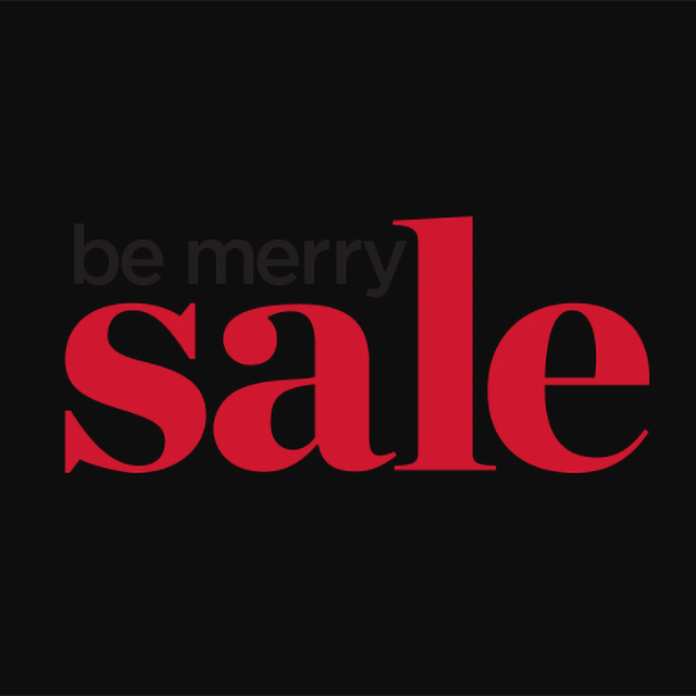 Be Merry Sale