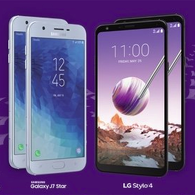 4 FREE Samsung and LG phones