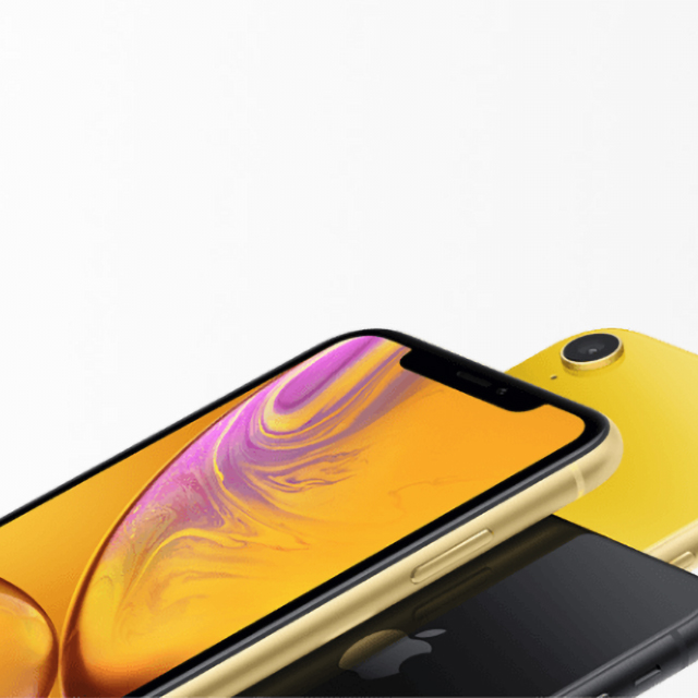Get iPhone XR on us when you lease another.