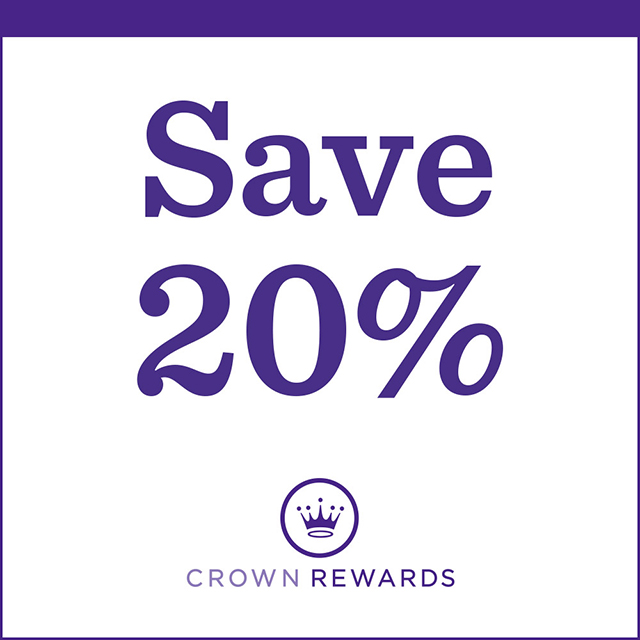 Member-Exclusive Shopping Reward—Save 20% on your purchase