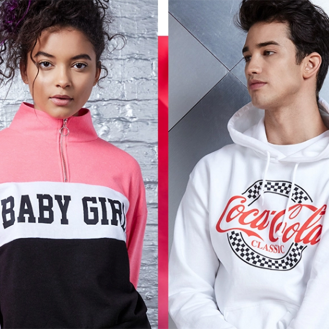 Sweatshirts & Hoodies from $12.99