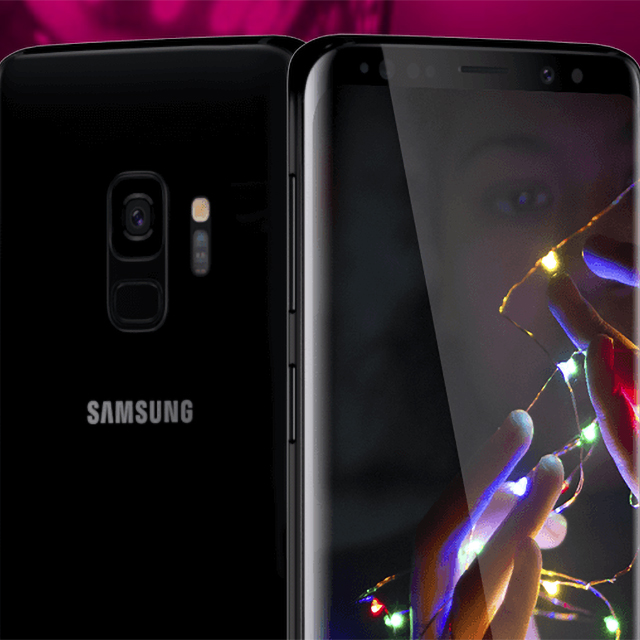 Unlimited plan with Samsung Galaxy S9 included. Just $40/line.