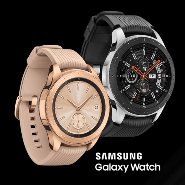 Buy a Samsung Galaxy Watch, get one FREE.