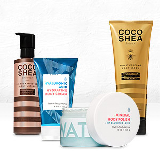CocoShea & Water Body Care 2/$20