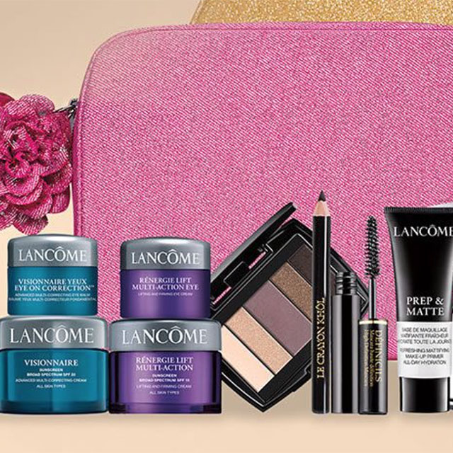 Lancome gift with Lancome Purchase