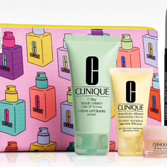 Clinique Free 7-Piece gift with Purchase
