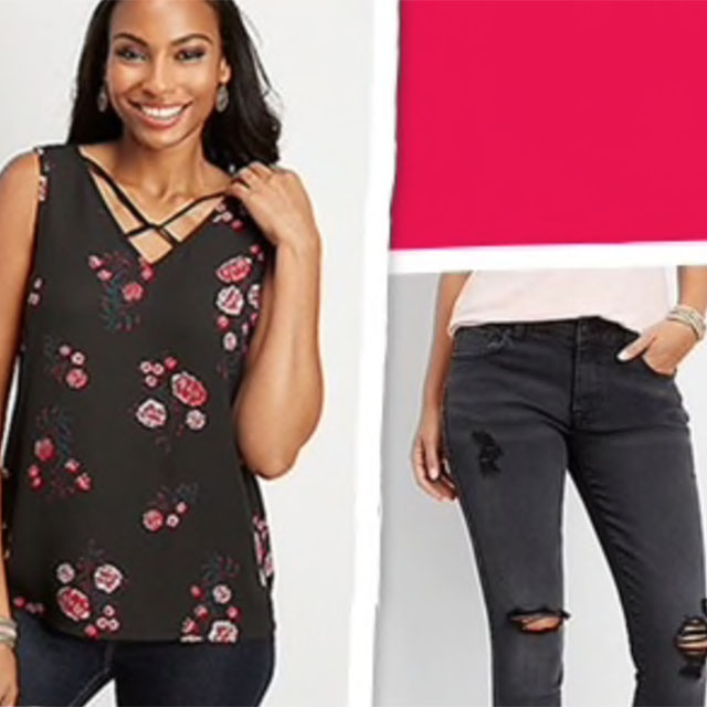 Up to 75% off Clearance Styles