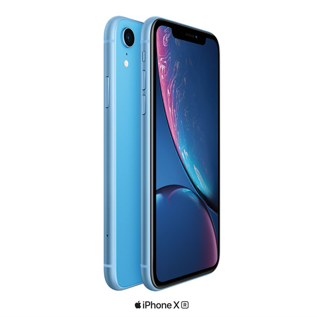 The amazing iPhone XR on us.