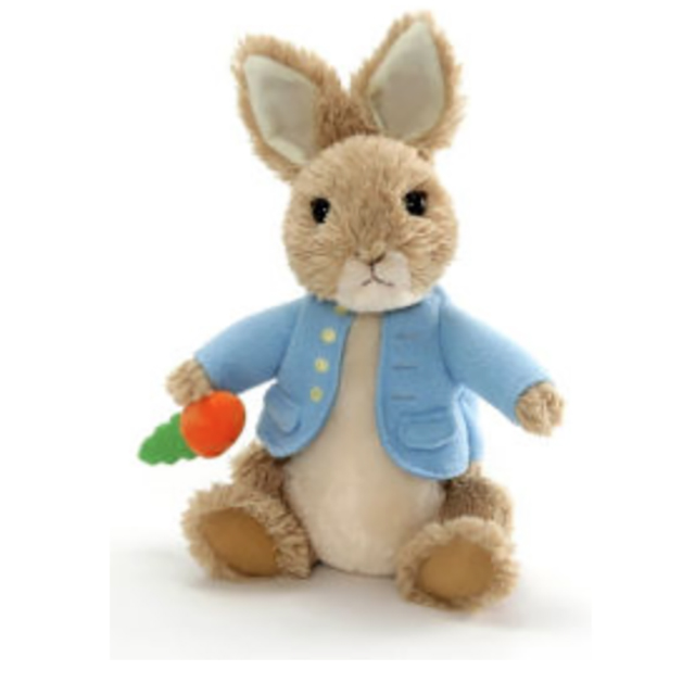 Peter Rabbit Plush Only $6.99 with Purchase