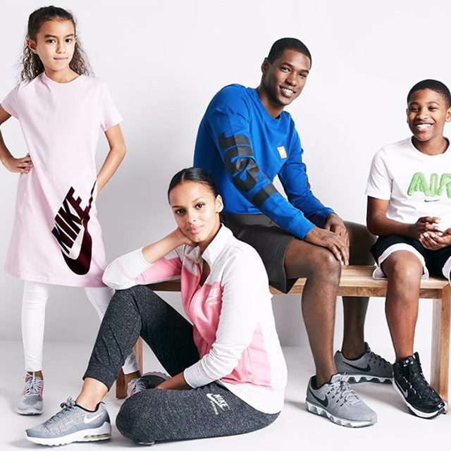 25% off Nike for the Family