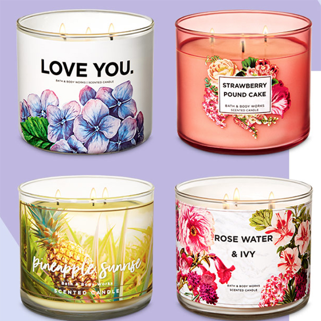 Buy 2, Get 2 Free 3-Wick Candles