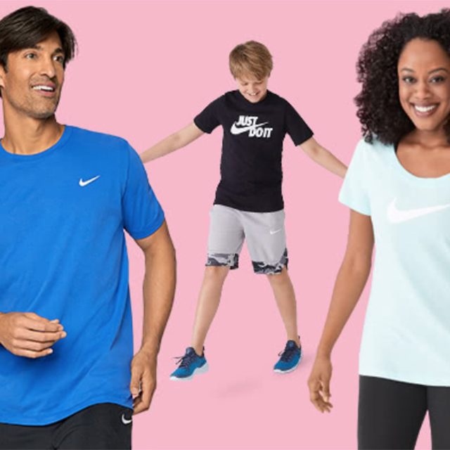 25% off Nike Shoes & Apparel for the Family