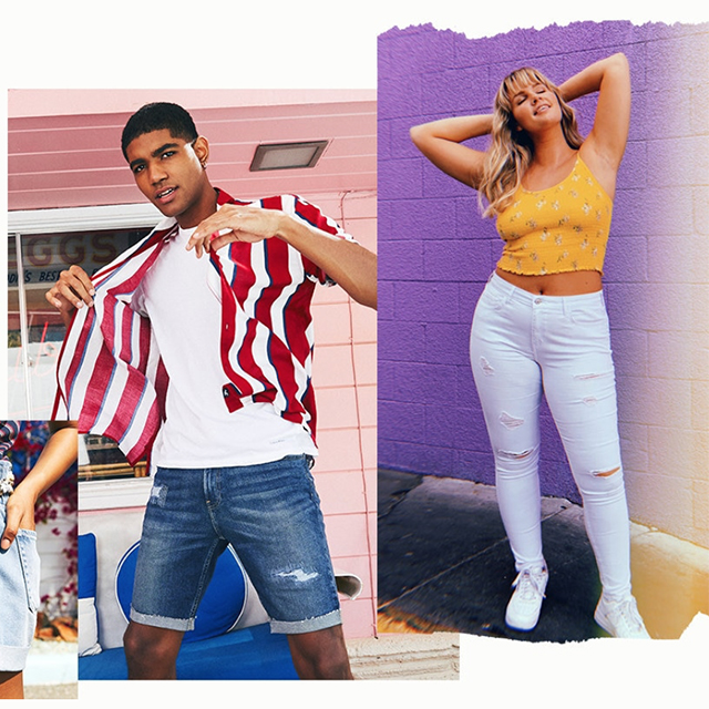 Jeans & Shorts Buy One Get One 50% off