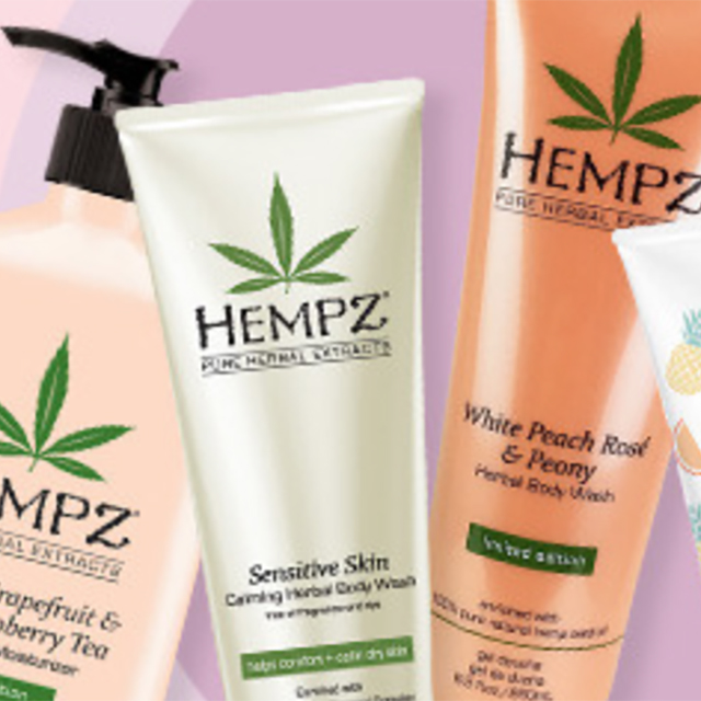 BOGO 50% off Hempz Bath